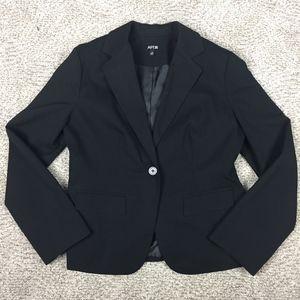 Apt. 9 Black Pinstriped Blazer Size 12